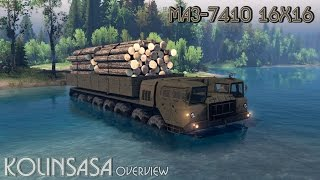 Spintires 2014 - МАЗ-7410 16x16