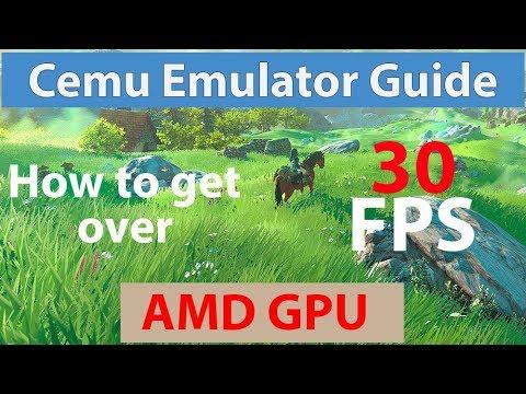 Cemu Emulator On Linux Using AMD GPU - смотреть онлайн на
