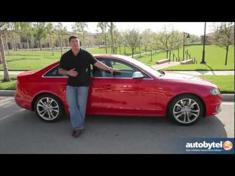 2012 Audi S4: Video Road Test and Review