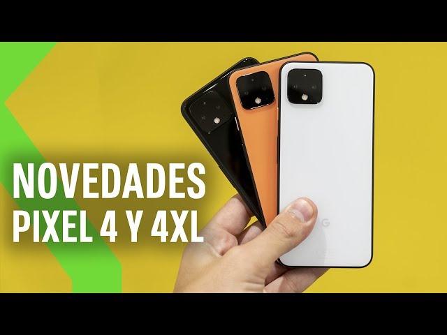 Nuevos Pixel 4 y 4 XL, PIXEL BUDS y más: TODAS las novedades de Google en menos de 5 minutos