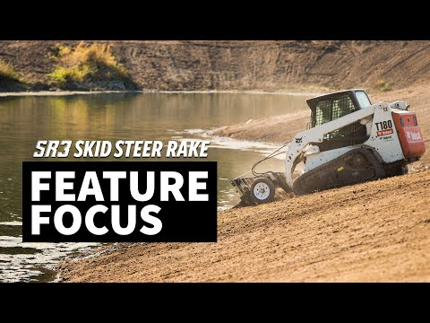 SR3 Command Series – Skid Steer Grading Rake