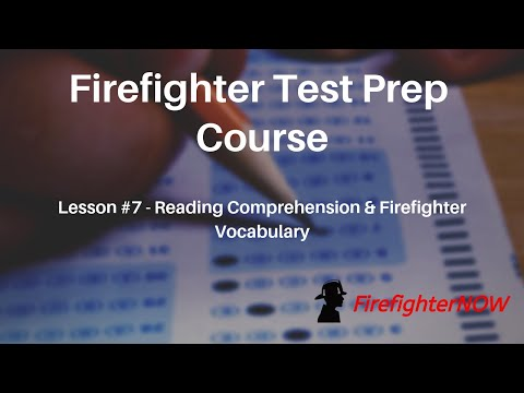 Firefighter Vocabulary and Reading Comprehension - YouTube
