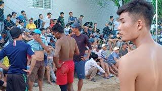 [Live] បាល់ទះកម្ពុជា ប៉ះរៀតណាម International Volleyball Cambodia 4 Vs 4 Vietnam (Set2) 7 Jan 2019