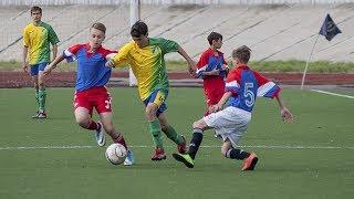 Всероссийские соревнования по футболу «Кожаный мяч»