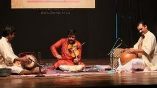 Violin performance by A Jayadevan on Adathu Asangathu Va va Kanna