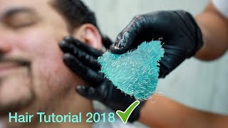 Best Unwanted Hair Removal -Full Face Waxing - Curly Hair Straightening Tutorial - Episode 17