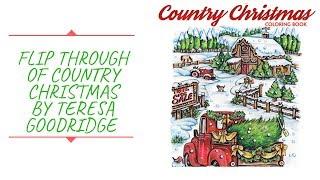 Flip Through Of Country Christmas By Teresa Goodridge