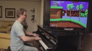 Sonic on Piano