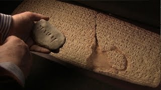 Writing Cuneiform Demonstration | Babylonian language before 3000 BC
