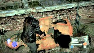 Resident Evil 6 Walkthrough (Leon Campaign) Pt. 8 - Let Us In The Cathedral!