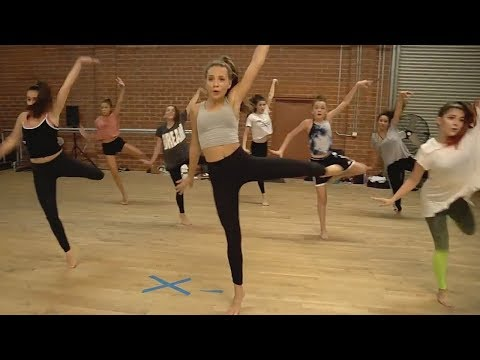 Maddie Ziegler Combo - This Is Me - @BrianFriedman Choreo