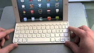 Logitech Ultrathin iPad Mini Test - dooclip.me
