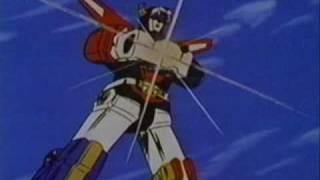 Both Voltrons Blazing Swords