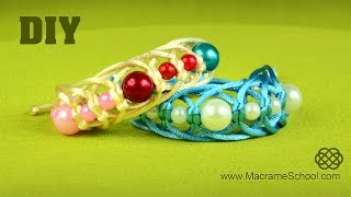 Nice & Fast Beaded Bracelet Tutorial