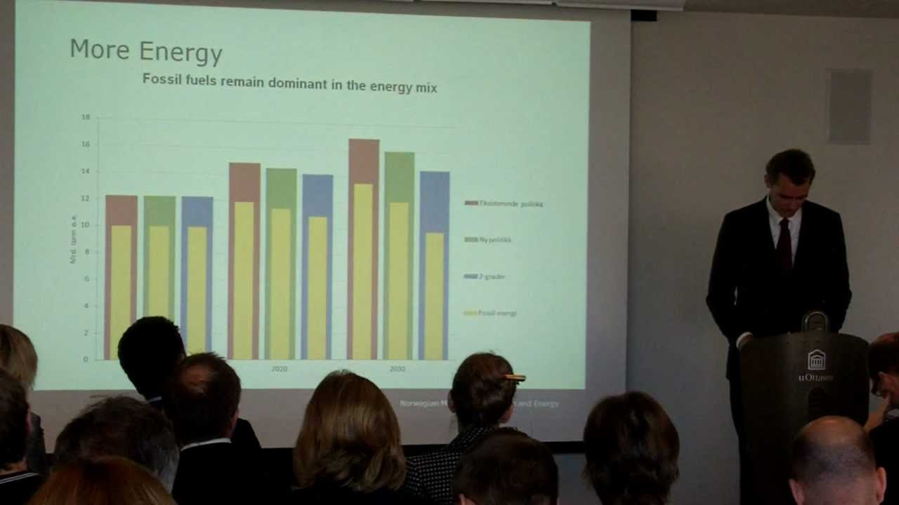Ola Borten Moe: Norwegian Energy Policy: Looking Northwards (November 2, 2011)