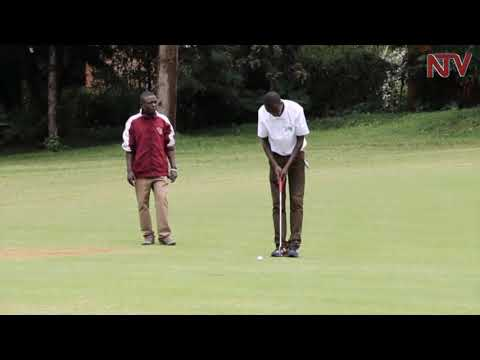 UGANDA GOLF OPEN: Nelson Mudanyi shoots 66 to take one-shot lead