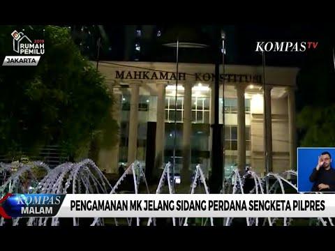 Jelang Sidang di MK, Jalan Medan Merdeka Barat Akan Ditutup