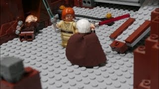 LEGO STAR WARS EpisodeⅡ Duel on Geonosis anakin and obiwan and yoda vs dooku