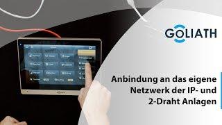 Goliath Anbindung an das eigene Netzwerk der IP- und 2-Draht Anlagen