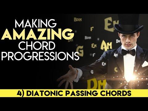 Making Amazing Chord Progressions(4) - Diatonic Passing Chords