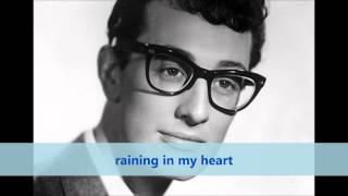 Raining In My Heart: Buddy Holly lyrics