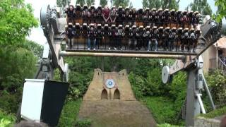 preview picture of video 'Ramses Revenge - Chessington - TPR UK Trip 2010 - Offride'
