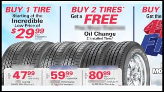 Tire Sales - The Truth Behind Tire Sales and Promotions