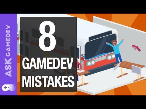 8 Game Development Mistakes to Avoid!