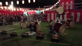 習志野台団地の祭り