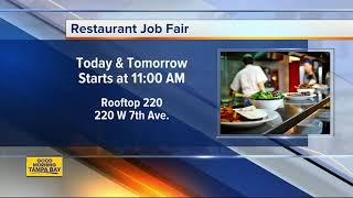 Tampa Based Restaurant Company Hosting Job Fair To Fill Jobs At 3 New Restaurantbar Concepts