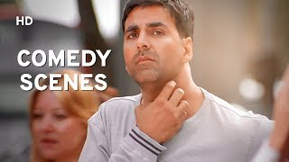 Best Comedy Scenes | Akshay Kumar | Paresh Rawal | Govinda | Bhagam Bhag | Bollywood Comedy Film - Download this Video in MP3, M4A, WEBM, MP4, 3GP