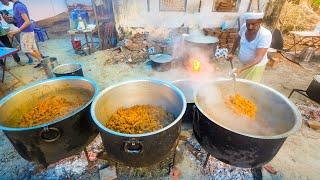 Biryani for 2,000!!   HUGE INDIAN FOOD Celebration - Malabar Coast, Kerala, India!