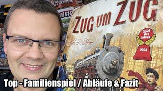Zug um Zug (Days of Wonder) - Klassiker - Top Familienspiel - Spiel des Jahres 2004 - ab 8 Jahre