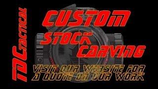 Custom Gun Stock Carving