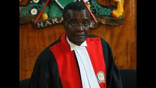 Justice Maraga and Lawyer Harun Ndubi