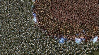5000 MARINES vs 5000 ZEALOTS - Starcraft 2 MASSIVE Battles