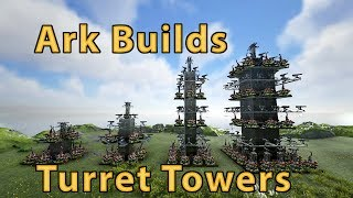 Best Auto Turret Tower Build Ark
