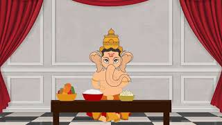 Lord Ganesha & Kubera Story | Ganesha kids movie