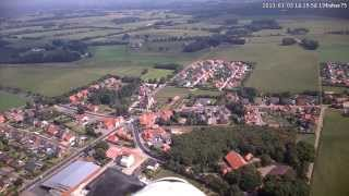 preview picture of video 'Langen Emsland Sportplatz an Pfarrkirche St. Matthias 1'