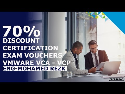 ‪70% discount certification exam vouchers Vmware VCA - VCP By Eng-Mohamed Rezk | Arabic‬‏