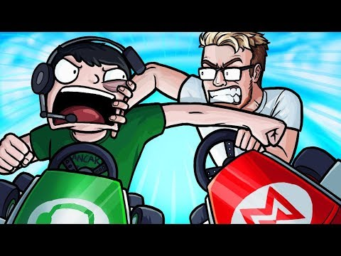 ITS HAPPENING!! - Mario Kart 8 Deluxe Gameplay Funny Moments