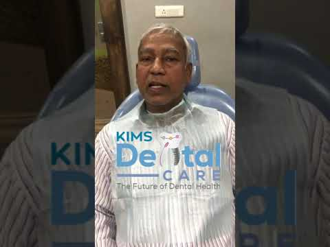 Clients great experience on kims dental, great dental doctors and staff and services on KIMS Dental Care