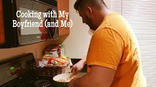 Cook with My Boyfriend and I | Alyssa Michelle - Video Youtube