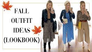 FALL LOOKBOOK 2019 OUTFIT IDEAS
