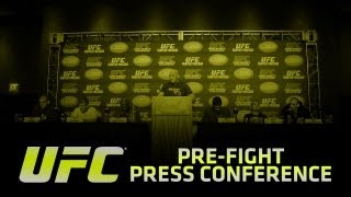 UFC 152: Jones Vs Belfort Pre Fight Press Conference