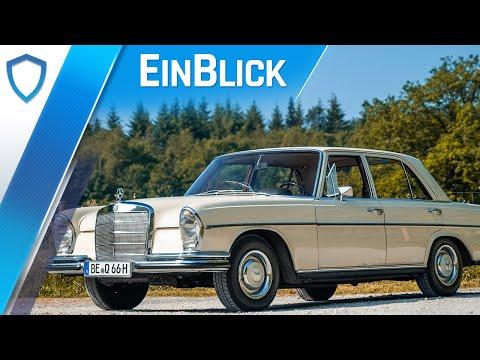 Mercedes-Benz W108 250S (1966) - Die erste echte S-Klasse? Test & Review