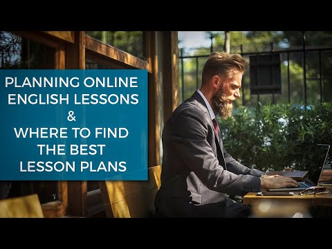Planning Your Online English Lessons and Where to Find the Best Resources