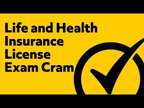 Life and Health Insurance License Exam Cram - YouTube