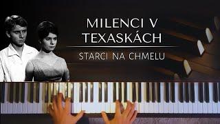 Milenci v texaskách (Starci na chmelu) + noty pro klavír