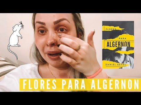 Vlog de leitura: Flores Para Algernoon, DANIEL KEYES | Isa do Apego Literário
